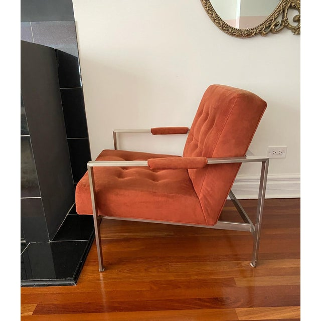 Late 20th Century Milo Baughman for Thayer Coggin the 1937 Armchair For Sale - Image 5 of 9