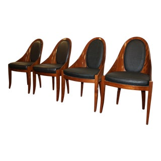 Art Deco Pietro Costantini Dining Chairs - Set of 4 For Sale