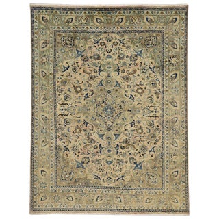 20th Century Persian Khorassan Area Rug With Traditional Style For Sale