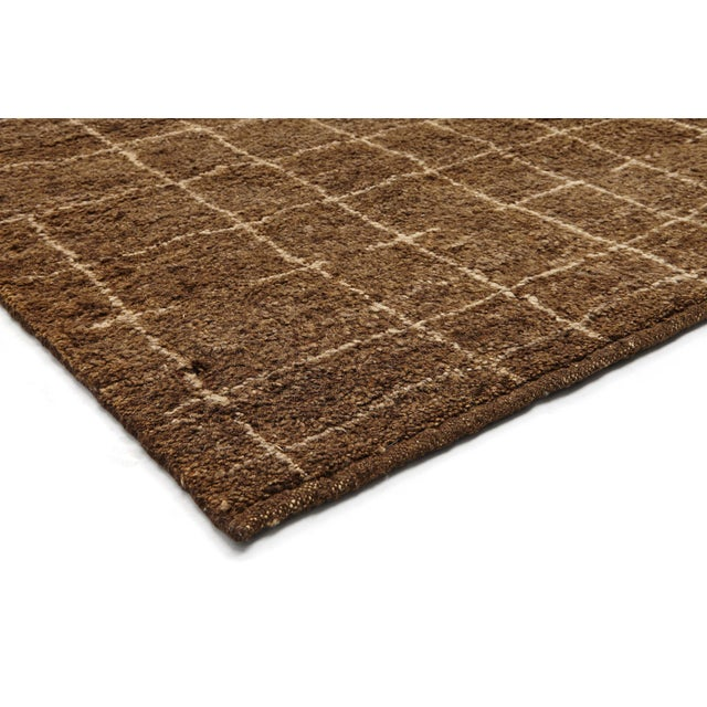 Contemporary Stark Studio Rugs Contemporary Moroccan Wool Rug - 6′3″ × 9′ For Sale - Image 3 of 4