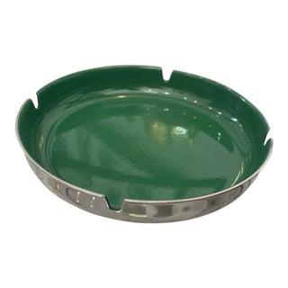 Leif Wessmann Associates, Inc. Green Enameled Ashtray For Sale
