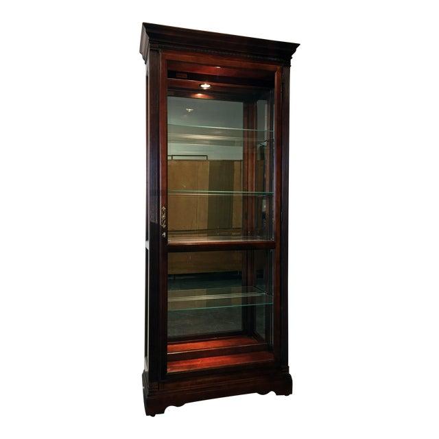 "Howard Miller ""Walcott"" Lighted Curio Cabinet - Image 1 of 11"