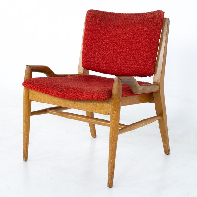 John Keal for Brown Saltman Mid Century Mahogany Dining Chairs - Set of 4 For Sale In Chicago - Image 6 of 13