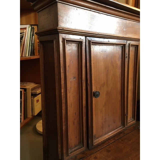 Rustic 1900s Renaissance Revival Oak Prie Dieu Watson & Boaler Nightstand For Sale - Image 3 of 11