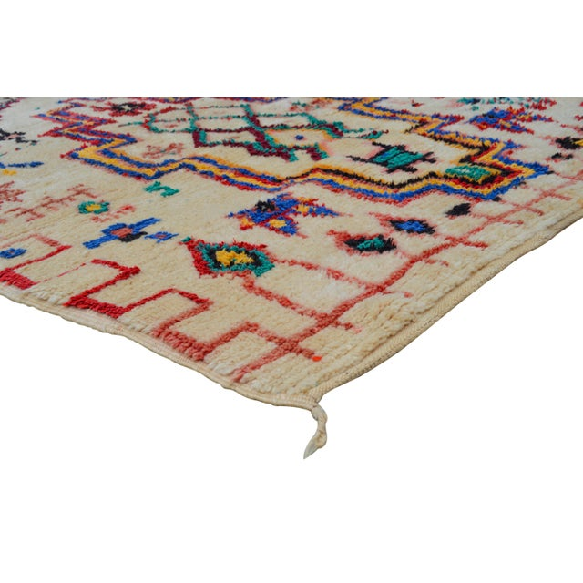 Vintage Moroccan Azilal Rug - 5'5'' x 3'11'' - Image 2 of 6