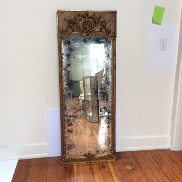 Antique French Giltwood Mirror - Image 8 of 8