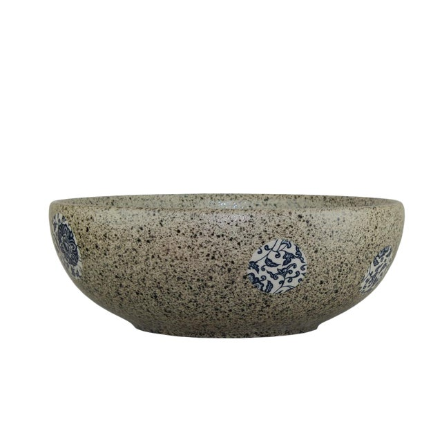 Pasargad DC Modern Stone Design Sink Bowl For Sale - Image 4 of 6