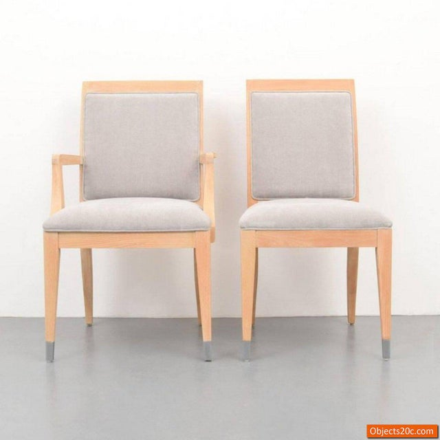 Mid-Century Modern Jay Spectre for Century Mid-Century Modern Dining Chairs- Set of 8 For Sale - Image 3 of 10