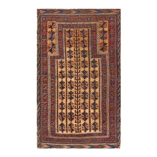 Late 19th Century Baluch-Turkmen Rug For Sale
