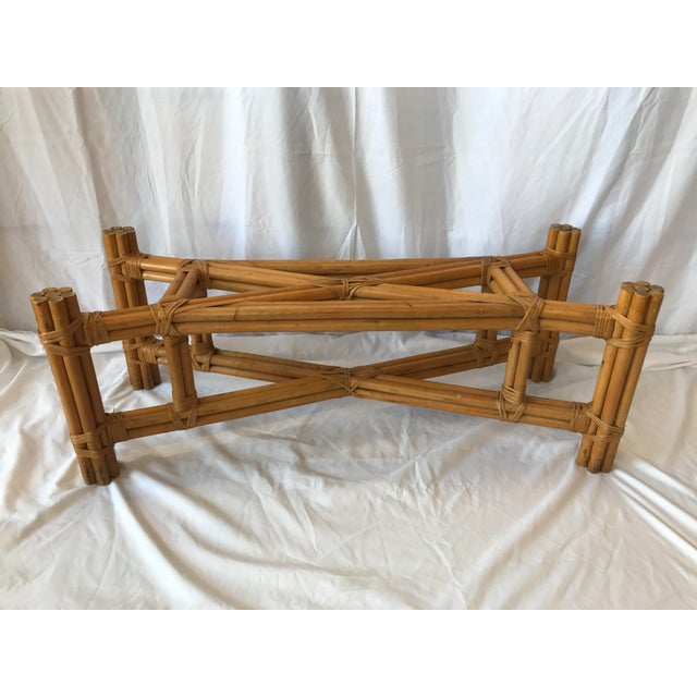 Boho Chic Boho Chic X Design Rattan Coffee Table For Sale - Image 3 of 9