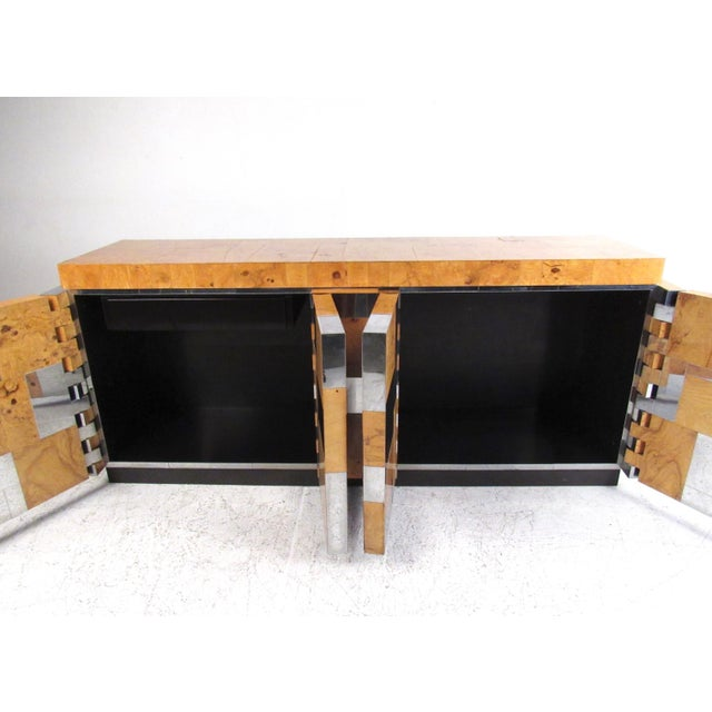 Directional Paul Evans Cityscape Sideboard For Sale - Image 4 of 11