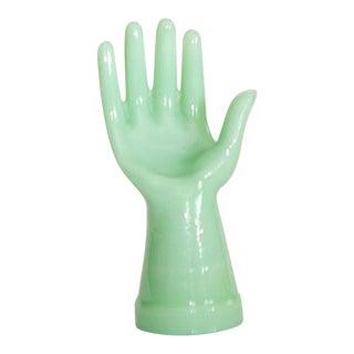 1920's Vintage Green Jadeite Hand
