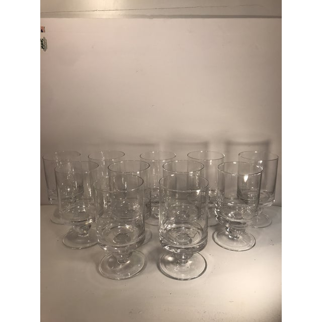 Crystal Waterford Rotondo Crystal Water Glass Goblets - Set of 11 For Sale - Image 7 of 7