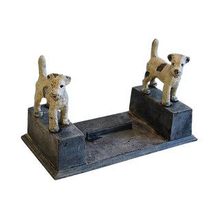 Large Cast Iron Dog Boot Shoe Scraper