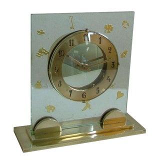 Fabulous High Quality Unique French Art Deco Clock For Sale