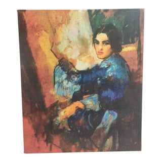 Amrita Sher-Gil Self Portrait #9 - Canvas on Frame (Reproduction Print) For Sale