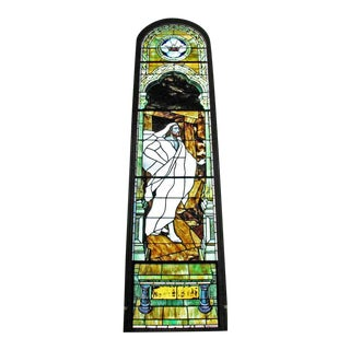 """The Resurrection"" Stained Glass Window For Sale"