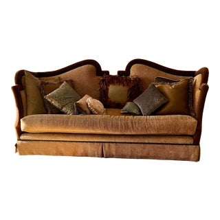 Marge Carson Sofa & Pillows For Sale