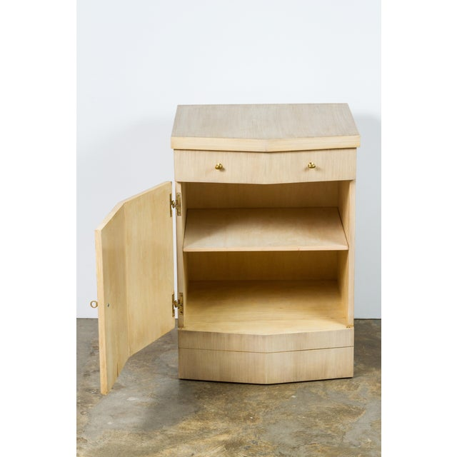 Paul Marra Pinnacle Nightstand in Bleached Douglas Fir - Image 6 of 7