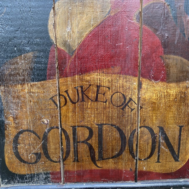 English Handpainted Pub Sign For Sale - Image 4 of 6