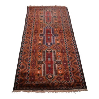 Tribal Afghan Hand Knotted Rug For Sale