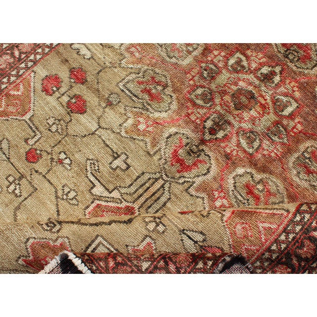 Vintage Mid-Century Persian Rug - 4′2″ × 6′4″ For Sale - Image 9 of 11