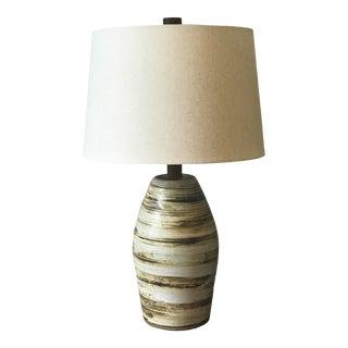 Jane and Gordon Mart Ceramic Lamp for Marshall Studios For Sale
