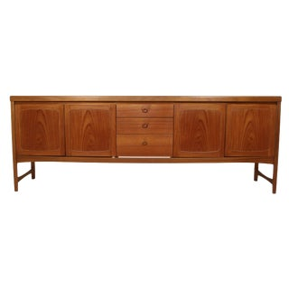 Mid Century Teak Credenza by Nathan Furniture For Sale