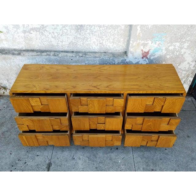 1970's Lane 9-Drawer Dresser - Image 3 of 7