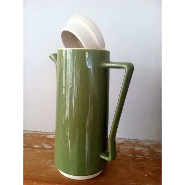 Vintage 1960s Ceramic Pitcher - Image 5 of 6