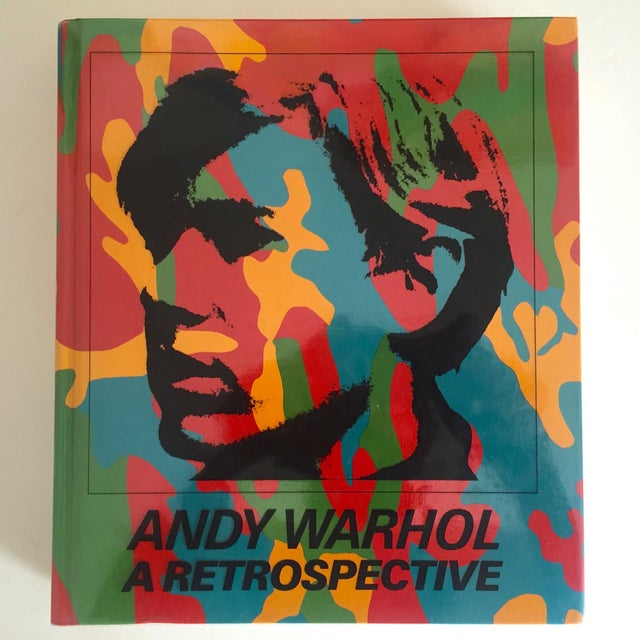 """Andy Warhol a Retrospective"" Rare 1st Edition 1989 MoMA Exhbtn Collector's Art Book For Sale - Image 11 of 11"