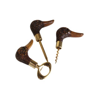 Mallard Bar Pieces - Set of 3 For Sale