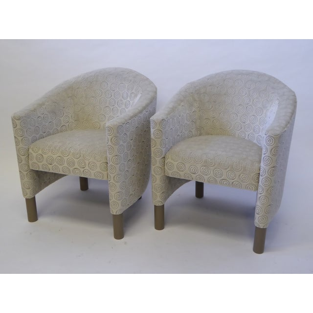 Pair of 1970s Brayton International Collection Modern Club Tub Armchairs For Sale - Image 13 of 13