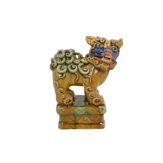 Hand-Painted Foo Dog For Sale
