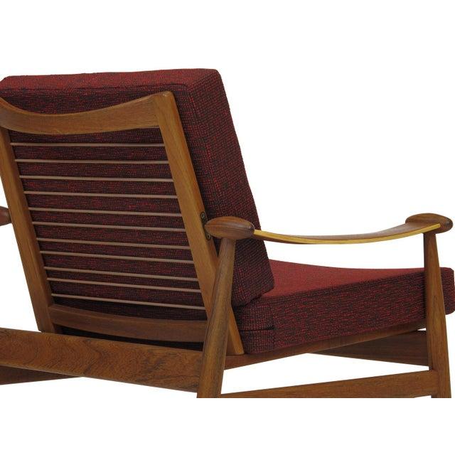 Finn Juhl Spade Mid-Century Danish Lounge Chair - Image 7 of 8