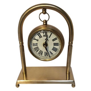 Hanging Brass Pocket Watch For Sale