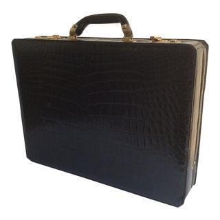 Dunhill Black Alligator Case For Sale