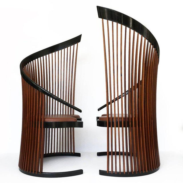 Pair of Paso Doble Sculptural Chairs by Thomas Stender For Sale - Image 4 of 11