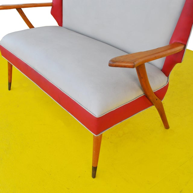Italian Style Settee For Sale - Image 4 of 11