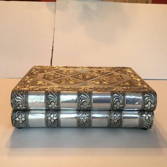 Silver Metal Jewelry Box - Image 2 of 11