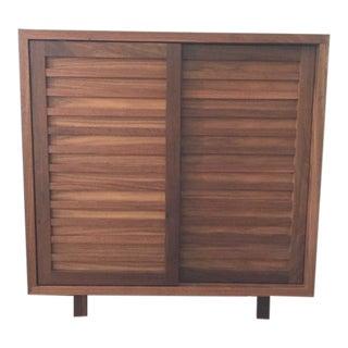 Mid-Century Modern Room & Board Moro Storage Cabinet For Sale