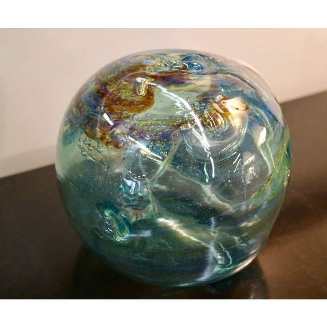 Signed 1970 Art Glass by Peter Bramhall - Image 3 of 7
