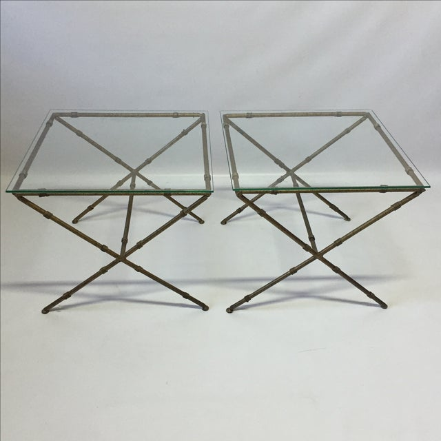 Hollywood Regency Accent Tables - A Pair - Image 7 of 8