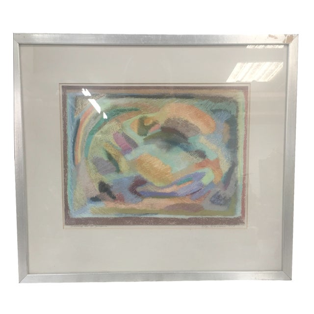 Original Pastel Abstract Artwork by Eda Warren - Image 1 of 6