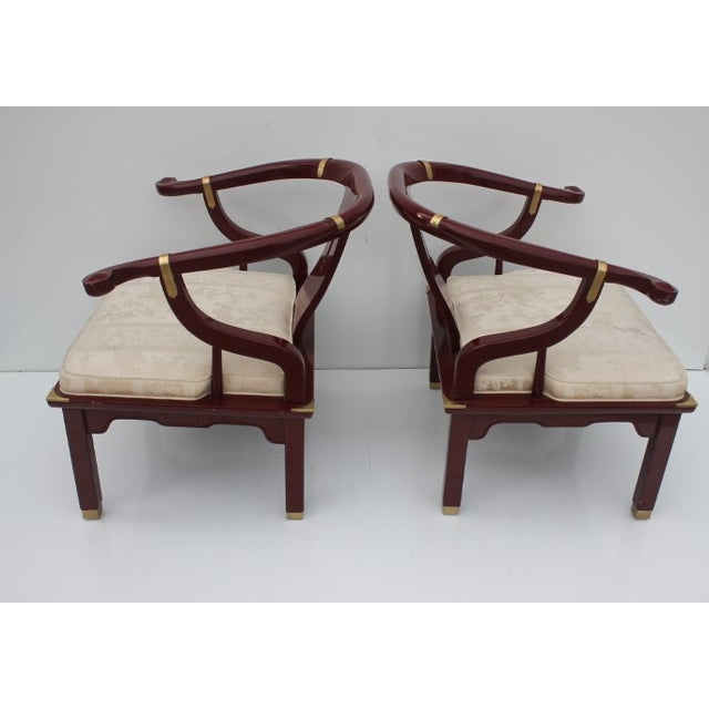 James Mont Chairs by Century a Pair. - Image 5 of 8