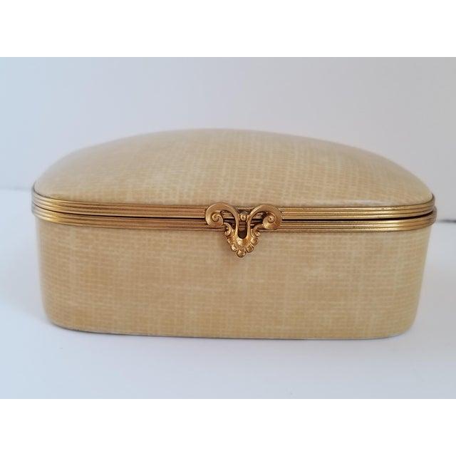 Vintage Chamart Limoges Trinket Box For Sale In New York - Image 6 of 12