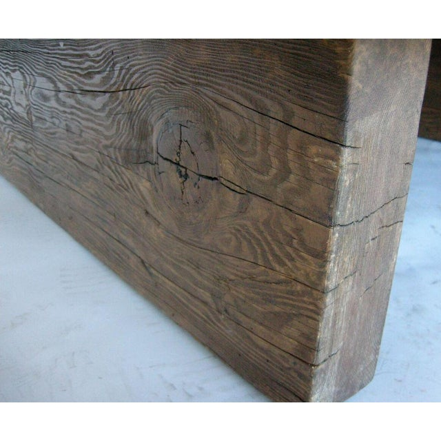 1920s Modern Primitive Coffee Table For Sale - Image 5 of 7
