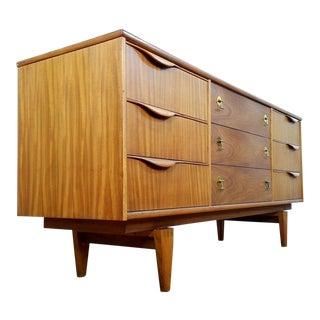 Stanley Mid-Century Credenza Dresser For Sale