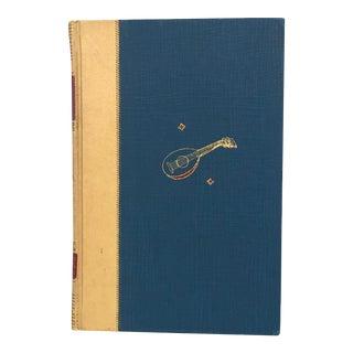 Giovanni Boccaccio Love Stories Illustrated Decorative Book For Sale