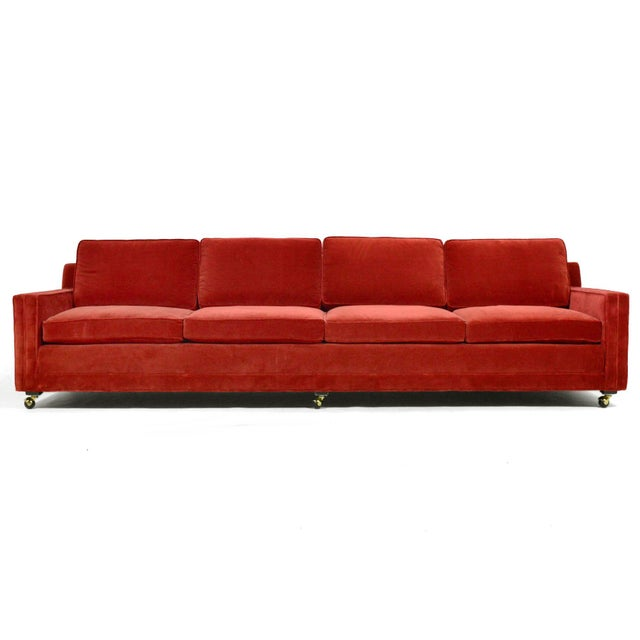 Mid-Century Modern Harvey Probber Double Arm Sofa For Sale - Image 3 of 10